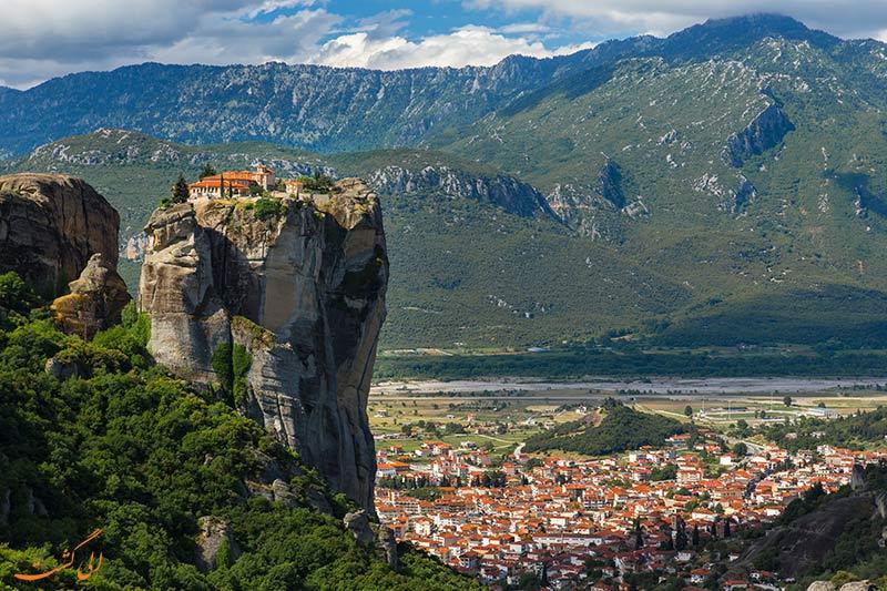 بنای مذهبی متئورای یونان