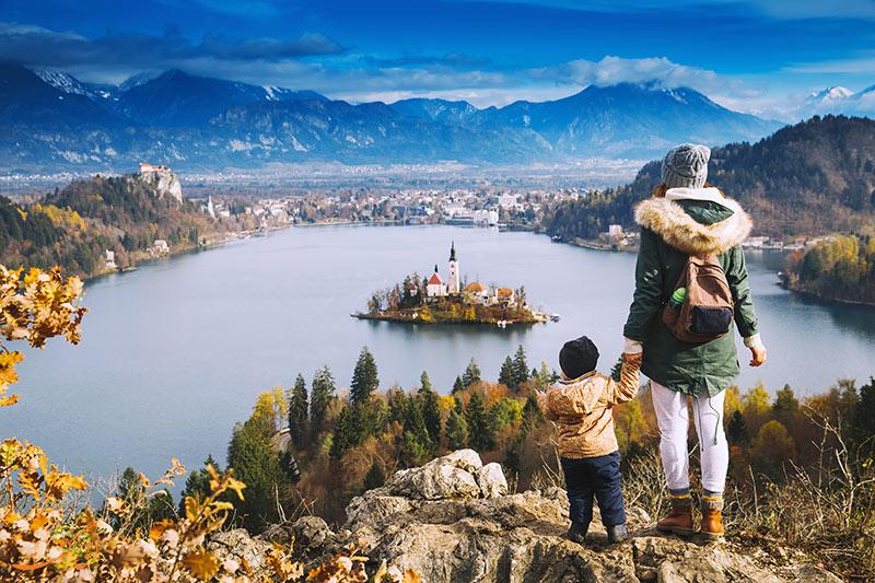 جزیره بلد در اسلوونی
