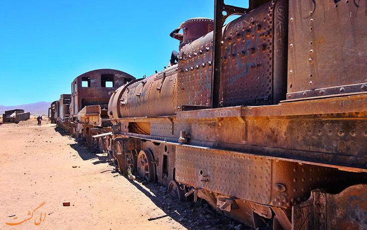 گورستان قطارها بولیوی