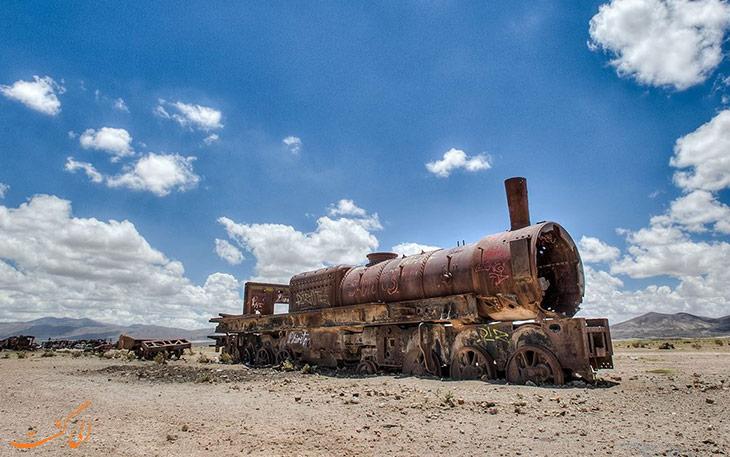 گورستان قطارهای بولیوی