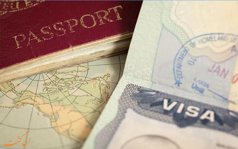 انواع ویزا برای سفر