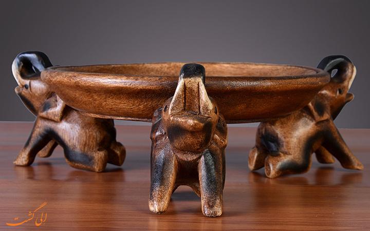 میز چوبی تایلندی