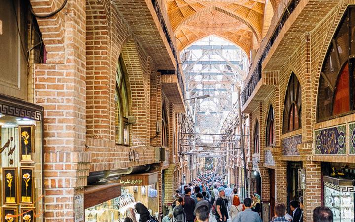 نمایی-از-بازار-تهران