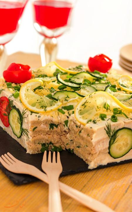 کیک اسکاندیناوی