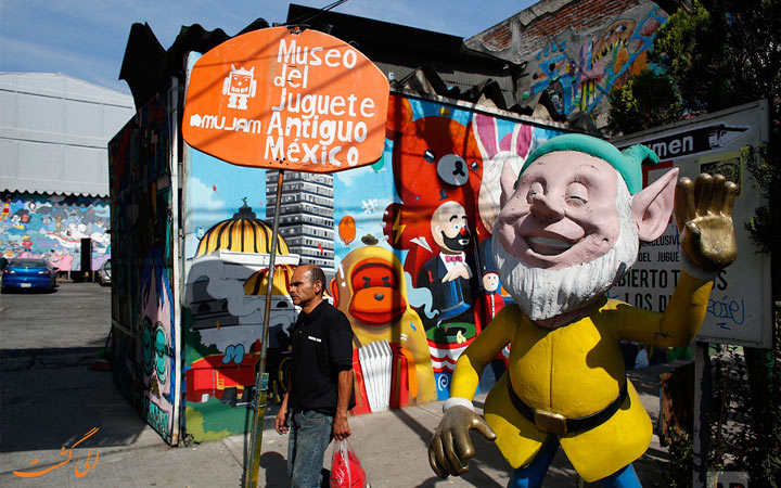 موزه عروسک دل جوگت آنتیکو مکزیک