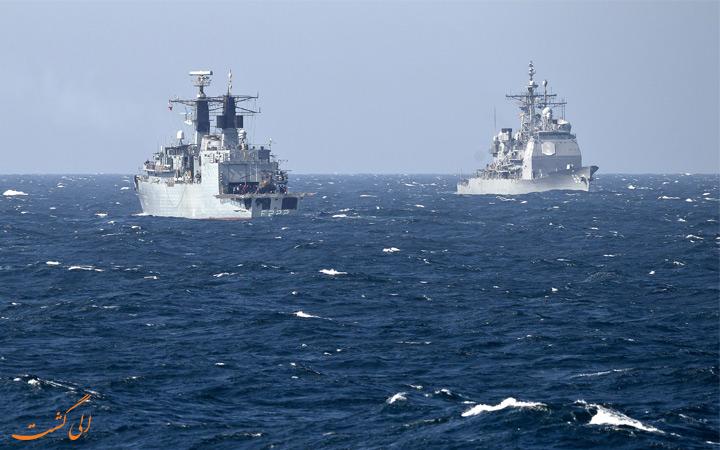 دریای سیاه و کشتی هایش