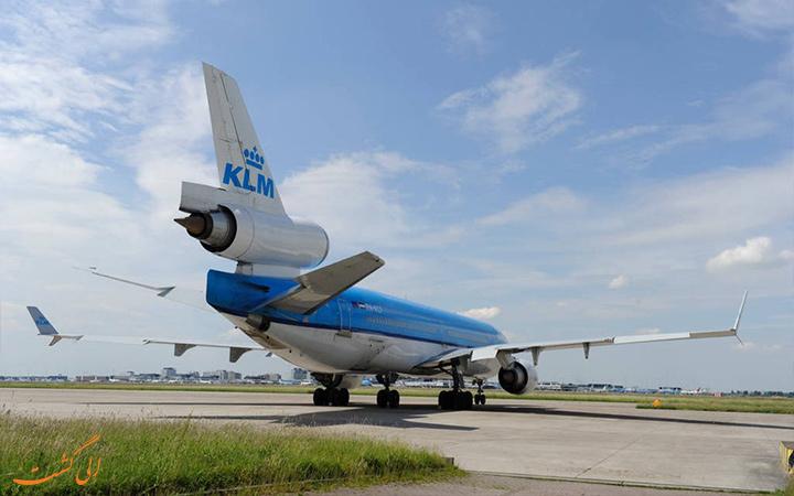 نمای بیرونی هواپیما