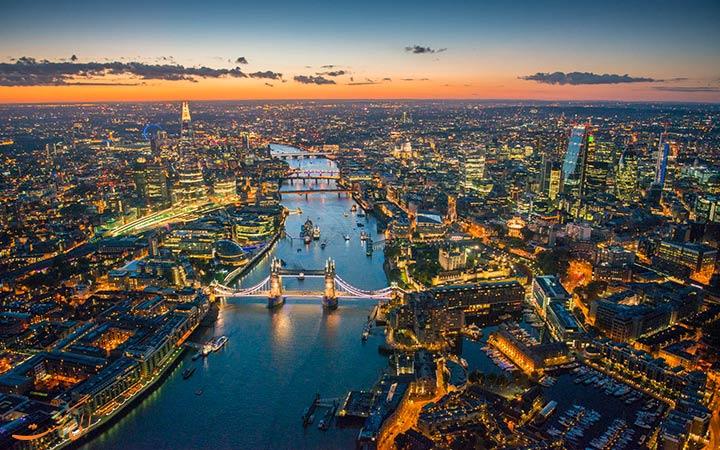 تصویری تماشایی از لندن