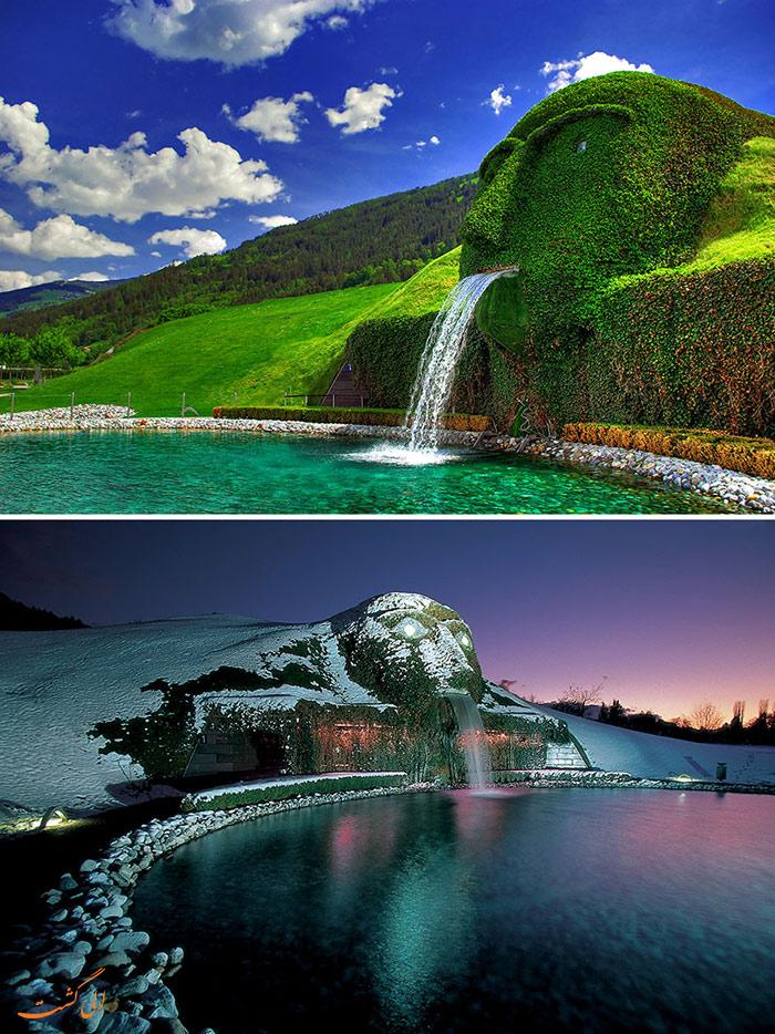 زیباترین آبنماهای دنیا | اتریش