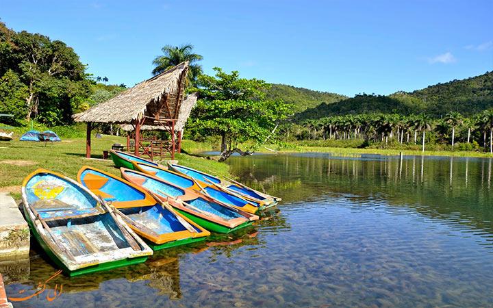 قایق سواری در روستای وینیالس