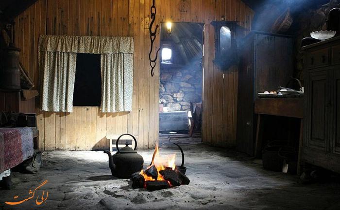 اجاق گاز سیاه خانه ها