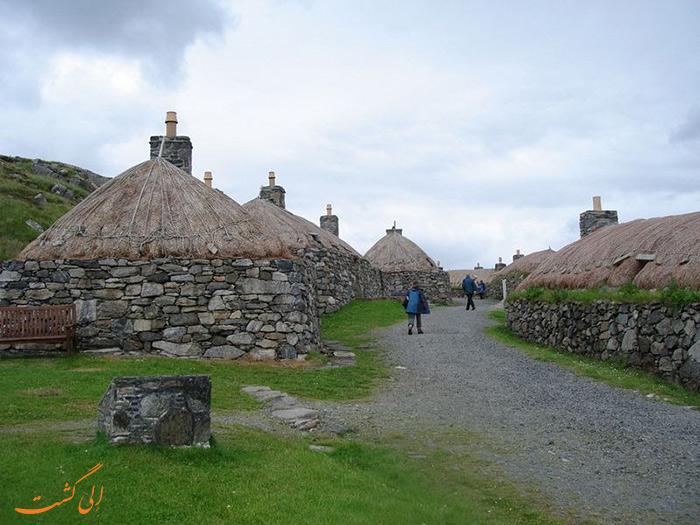 سیاه خانه ها در اسکاتلند
