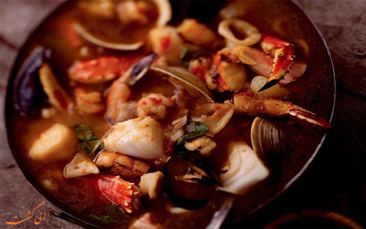 غذای Bouillabaisse
