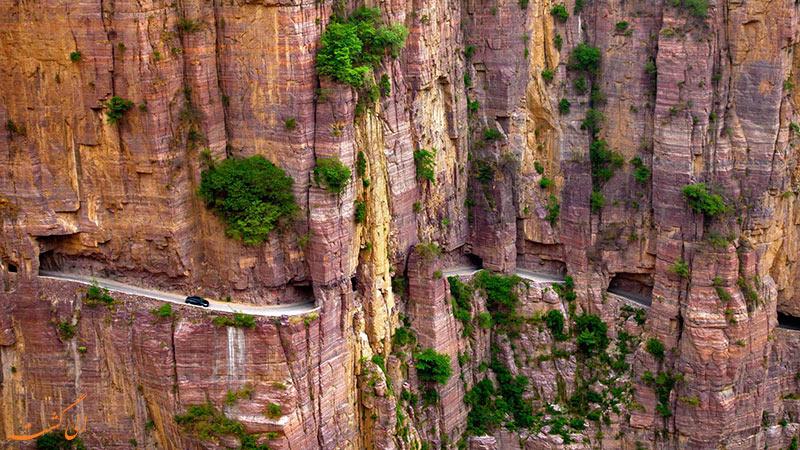 جاده تونلی گولیانگ چین