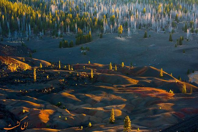پارک ملی آتشفشانی لاسن آمریکا