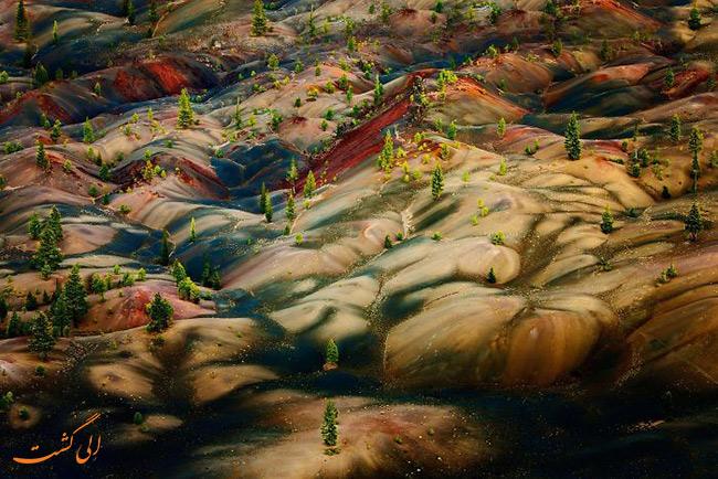 عکس پارک ملی آتشفشانی لاسن