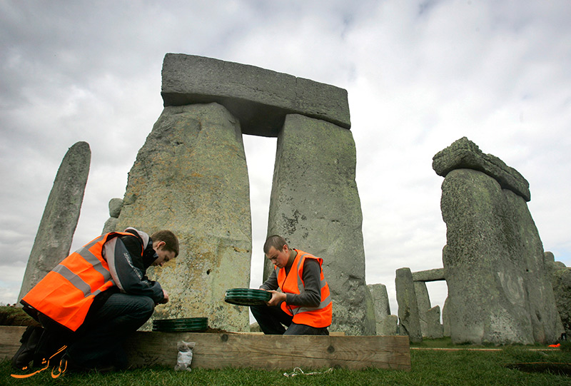 عکس استون هنج در انگلستان