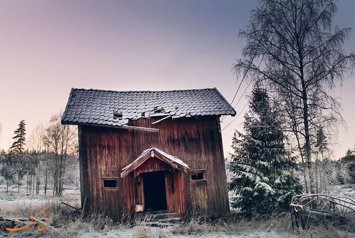 کلبه های متروک اسکاندیناوی