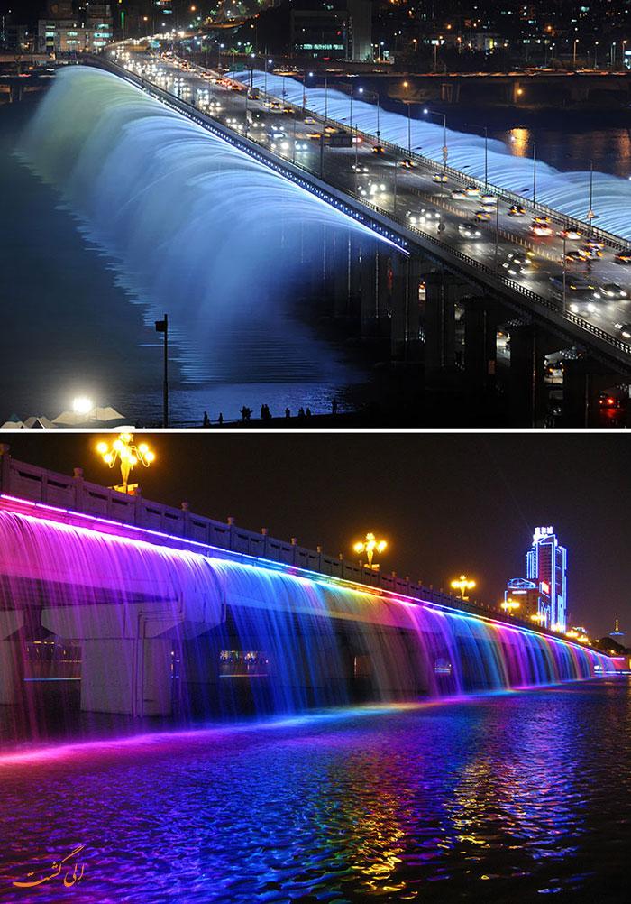 زیباترین آبنماهای دنیا | کره جنوبی