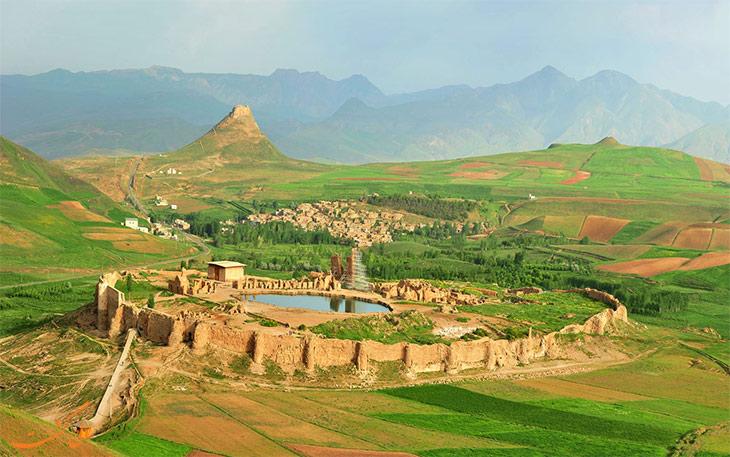 محوطخ تاریخی تخت سلیمان