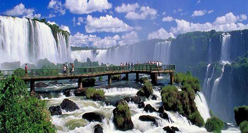 آبشارهای ایگواسو در برزیل