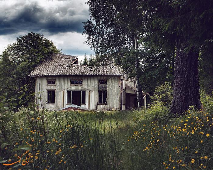 خانه های متروک در اسکاندیناوی