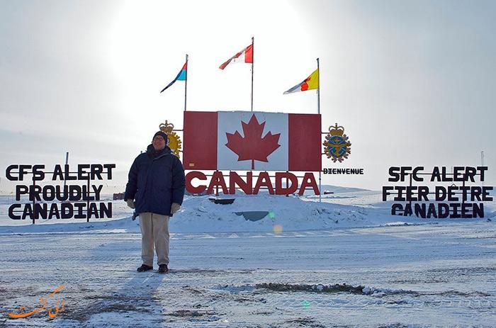 شمالی ترین سکونتگاه جهان در کانادا