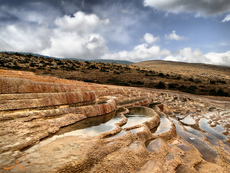 چشمه های باداب سورت در مازندران