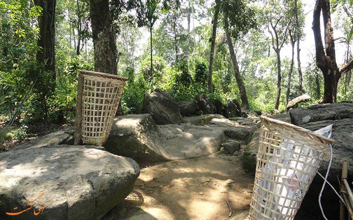 سطل زبلله های تمیزترین روستای آسیا