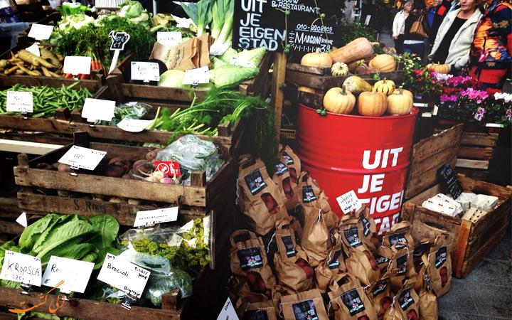 بازار هفتگی روتردام