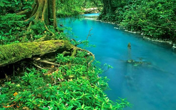 رودخانه ی زیبای کاستاریکا