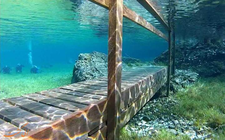 پل های زیر دریاچه