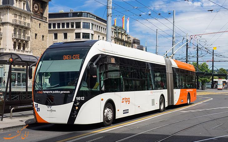 هزینه حمل و نقل در ژنو