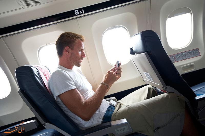 موبایل در هواپیما