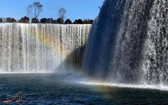 بزرگترین آبشار مصنوعی آسیا در چین