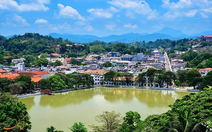 شهر کندی در سریلانکا