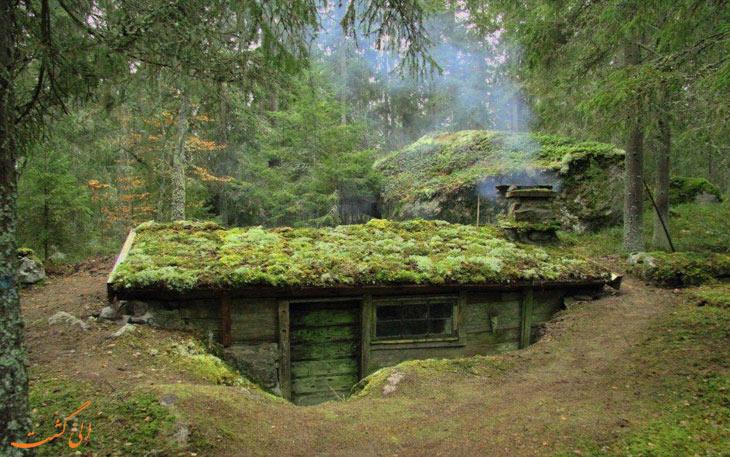 کلبه های سوئد