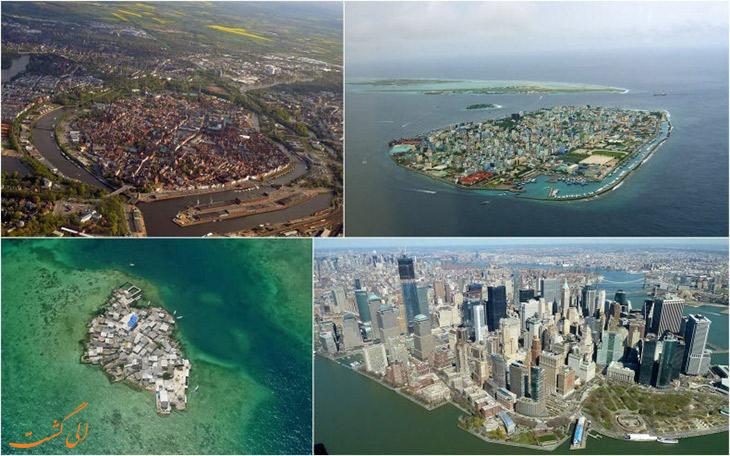 شلوغ ترین جزایر دنیا
