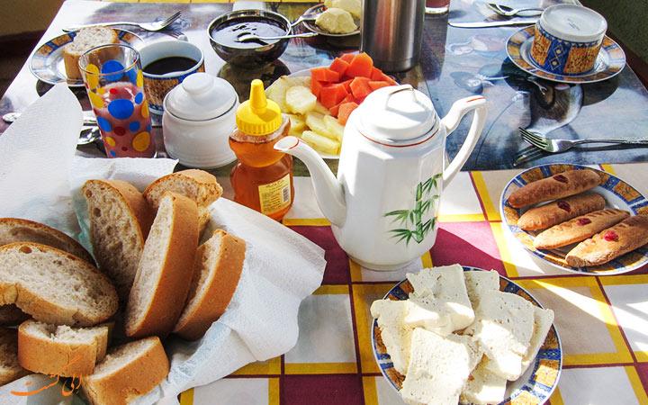 صبحانه ی کوبایی