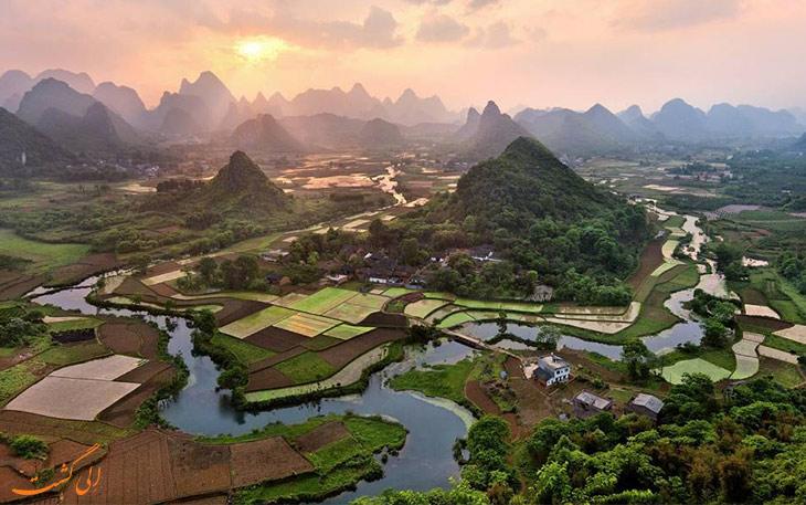 روستاهای زیبای جهان