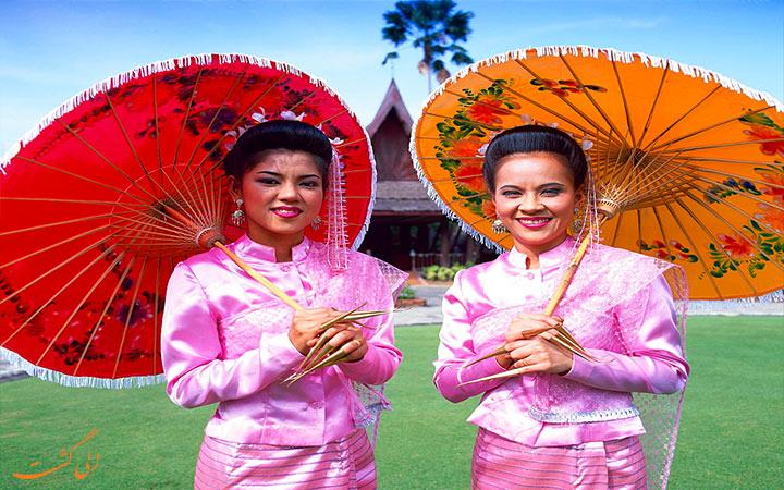 فرهنگ مردم تایلندی