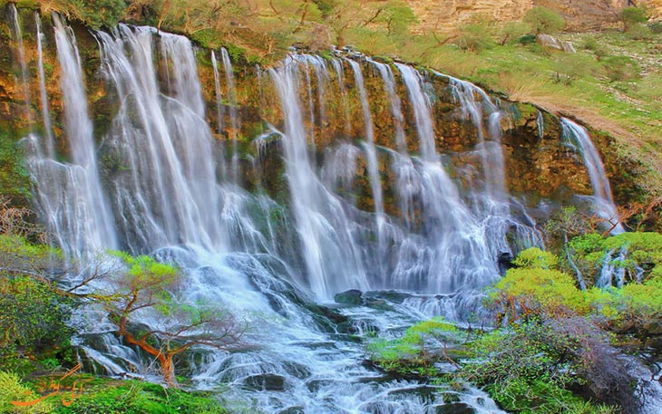آبشار زیبای جنوب ایران
