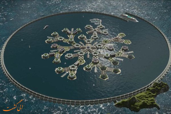 اولین شهر شناور دنیا