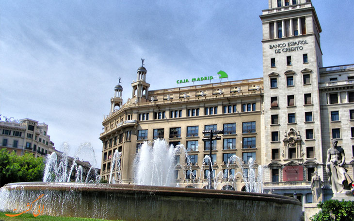 فواره میدان کاتالونیا