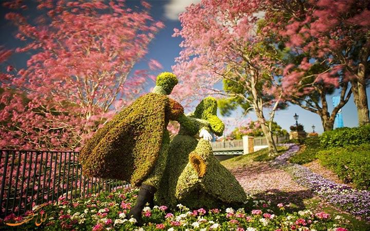 باغ زیبای رز در بانکوک