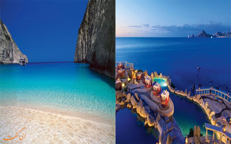 سواحل قبرس و یونان