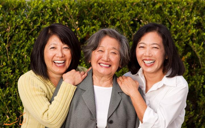 زنان شاد