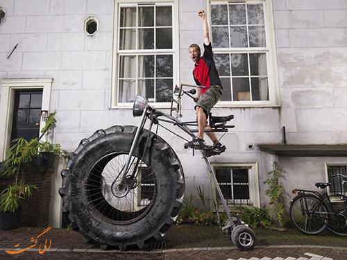سنگین ترین دوچرخه دنیا