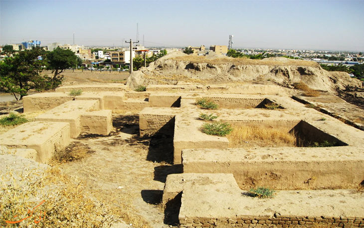 شهر تاریخی هگمتانه پایتخت قوم مادها