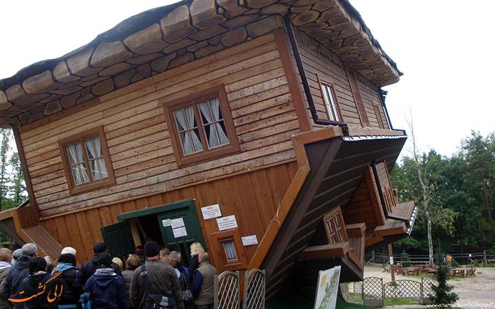 خانه برعکس در لهستان